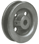 Standard Black 3 7/8 in Trolley Wheels