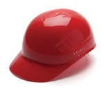 Pyramex Ridgeline Bump Caps 4-Point Guide Lock Suspension HDPE Red