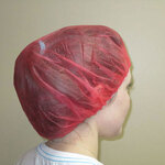 PolyLite®, Bouffant Cap, PolyLite®, Red, Universal, 21 in