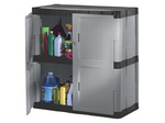 Rubbermaid®, Utility Cabinet, High Impact Resinite, Mica & Charcoal