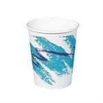 Solo®, Hot Cup, Paper, 8 oz, Jazz, 50 per Bag 1000 per Case