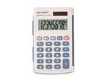Pocket Calculator Handheld, 2-1/2 W x 4.156 H in