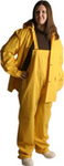 Rain Suit, PVC/Poly, yellow, 3x-large