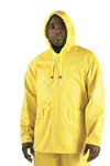 Rain Jacket, PVC/Poly, Yellow