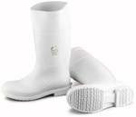 Dunlop 51034, Steel Toe Boot, White, PVC, Womens Size