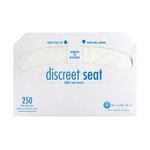 Discreet Seat®, Toilet Seat Cover, Half Fold