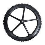 Big Wheel®, Replacement 5 Spoke Wheel Tire For 5642 Big Wheel Cart