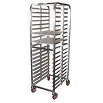 Welded Pan Rack, Aluminum