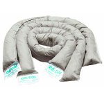 OIL-DRI L90890 Absorbent Sock, Universal, 4 ft, Cellulose, 40 Socks/BX