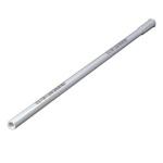 White Plastic Floor Drain Handle Carlisle Flo-Pac® 1 Diameter