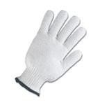 String Knit Gloves Cotton Poly Ladies Medium Weight