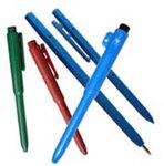 Stick Pen, Black, Blue, Metal Detectable, 50 per Box