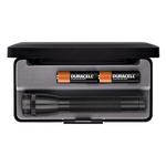 Mag Instrument M2A01L Mini MagLite® Flashlight, AA Alkaline, 14 Lumens, Black