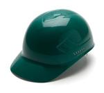 Pyramex Ridgeline Bump Caps 4-Point Guide Lock Suspension Green HDPE