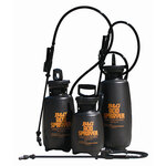 B&G 3 Gallon Acid Pump Sprayer Black 3-AS with Food Grade Grease