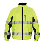 Ironwear 6440-LB Class 3 Premium NiteGlo Lime/Black Lightweight Windbreaker