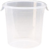 Rubbermaid® 4-quart Clear Plastic Round Food Storage Container