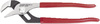 POWER TRACK® II, Tongue and Groove Plier, 16-7/8 inch overall length, Plastisol Grip, Red, Non-Slip, Natural Finish, Angled Teeth, ASME B107.500