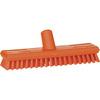 Vikan® 7041 Waterfed Deck Scrub Brush with Stiff Bristles