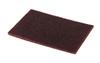 "3M Scotch-Brite 7447 Abrasive Hand Pads, Maroon, 6""x9"""