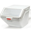 Rubbermaid FG9G5800WHT ProSave Shelf Ingredient Bin, 10.7-Gallon