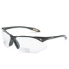 Honeywell® A950 Magnifying Safety Glasses, Black Frames