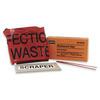 Biohazard Bag Infectious Waste and Scraper Honeywell North®