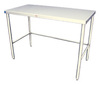 "Heat Seal® SS1S-2472 24"" x 72"" Stainless Steel Food-Prep Table"