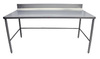 """Stainless Steel Preparation Table 36"""" W x 72"""" L Heat Seal SB-1S3672"""