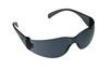 Virtua, Safety Glasses, Polycarbonate, Gray, Scratch-Resistant|Anti-Fog, Frameless
