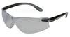 Virtua V4, Safety Glasses, Polycarbonate, Gray, Anti-Fog, Frameless