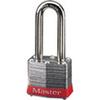 MasterLock 3LFRED Safety Lockout Padlock Steel Keyed Different