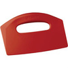 "Remco® Solid Polypropylene Bench Scraper 5"" x 8"" Blade Assorted Colors"