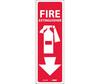 Fire Extinguisher Sign, Vinyl