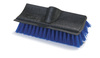 Carlisle 36190 Dual Surface Scrub Brush with Squeegee, 10-inch