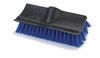 Carlisle 36190 Dual Surface Scrub Brush with Squeegee, 10-inch