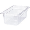 Cold Food Pan, 3-Jan, Polycarbonate, 12.8 L x 6-7/8 W x 4 H in