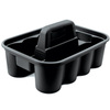 Rubbermaid® Deluxe Cleaning-Supply Caddy, Black