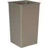 Rubbermaid FG395900 Untouchable® Square Container, 50-Gallon