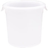 Rubbermaid FG572400WHT White Round Storage Container, 8-Quart