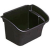 Rubbermaid Utility Bin, 4 gal, Black