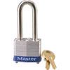 MasterLock 3LHBLU Safety Lockout Padlock Steel Blue Keyed Different