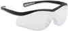 North®, Safety Glasses, Clear, Scratch-Resistant Anti-Fog, Elasto LT, Framed, Black
