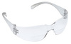 3M Virtua 11515-00000-20 Magnifying Safety Reader, Polycarbonate, Clear, Anti-Fog, Frameless