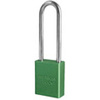 "American Lock® Green Aluminum Safety Lockout Padlock, 3"" Shackle"