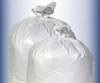 Pitt Plastics MT331XW White Liner Low-Density Poly Can Liner 12-16 Gal