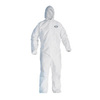 Kleenguard® A40 White Disposable Microporous Coverall