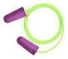 Therma-Soft 30®, Disposable Earplug, Corded, Purple, Tapered, 33 dB