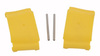 Dust Cover Kit, Yellow, 42799, 82711, Bradley Eyewash Station, (2) Pivot Pins, (2) Flip Cover