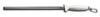"Dexter Russell 07603 Sani-Safe® DDS10 Diamond Steel Sharpener 10"""